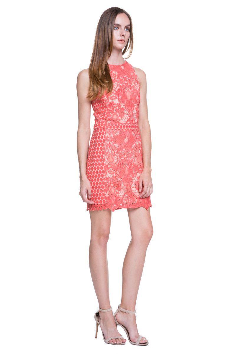 Endless Rose Coral Lace Dress   Bespoke Fashion   Pinterest   Moda ...