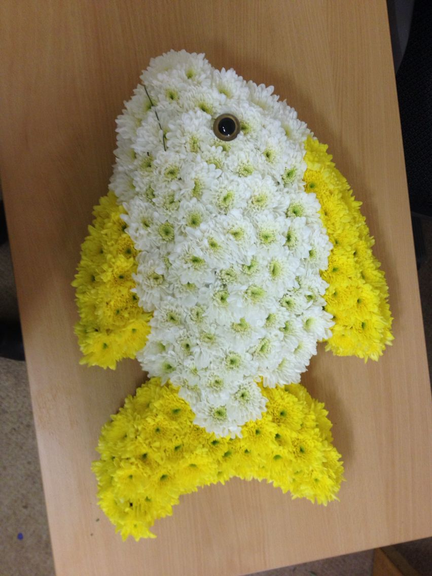 Pin by blossom florists on customised funeral tributes pinterest fish izmirmasajfo Gallery