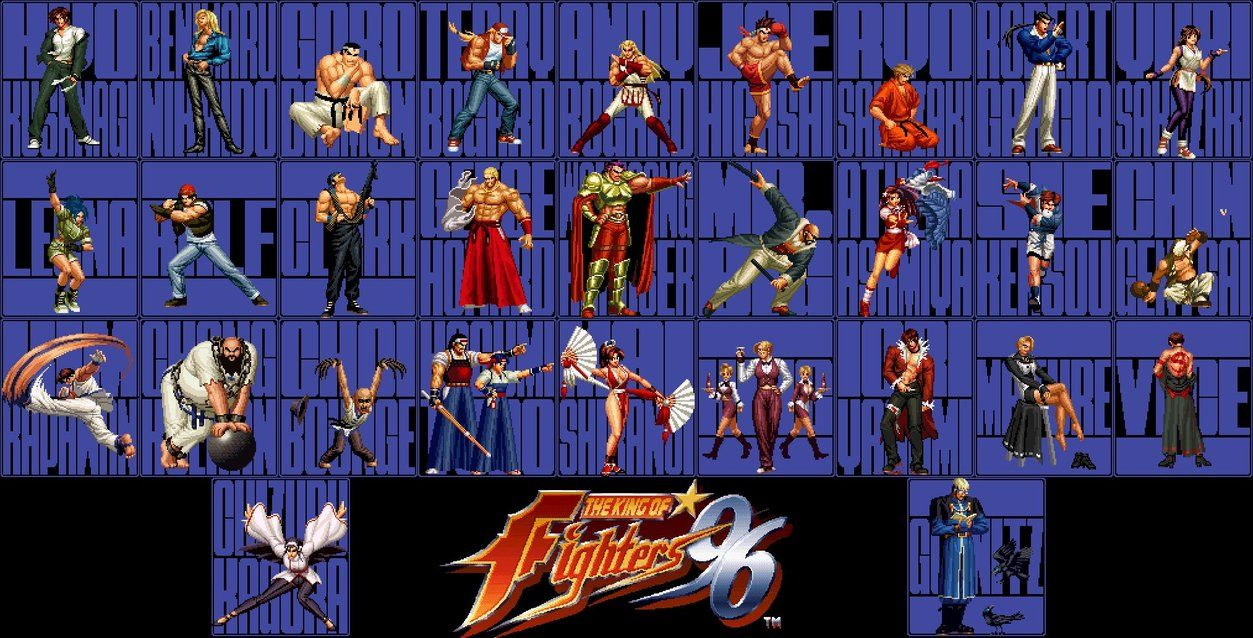 The King Of Fighters 96 1996