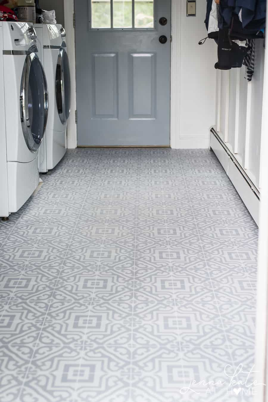 The Laundry Room Floor Laundry Room Flooring Vinyl Flooring