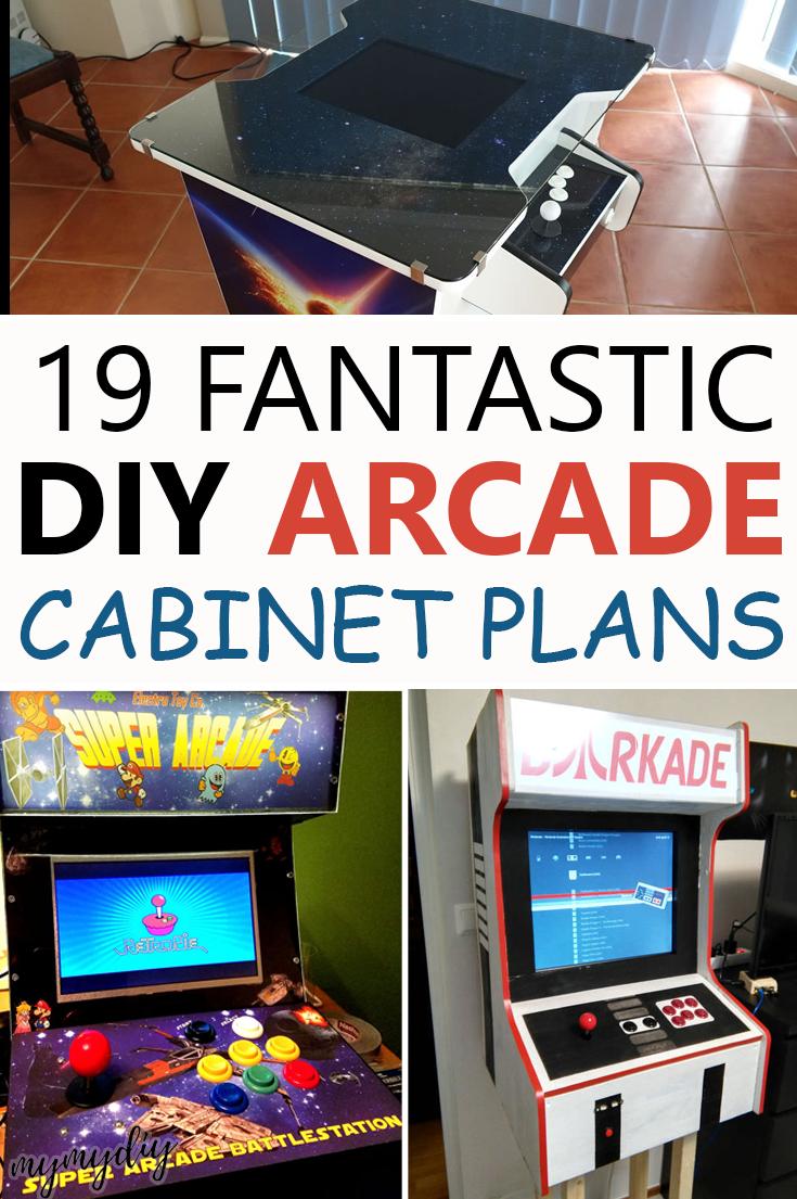 19 Fantastic DIY Arcade Plans [List] MyMyDIY