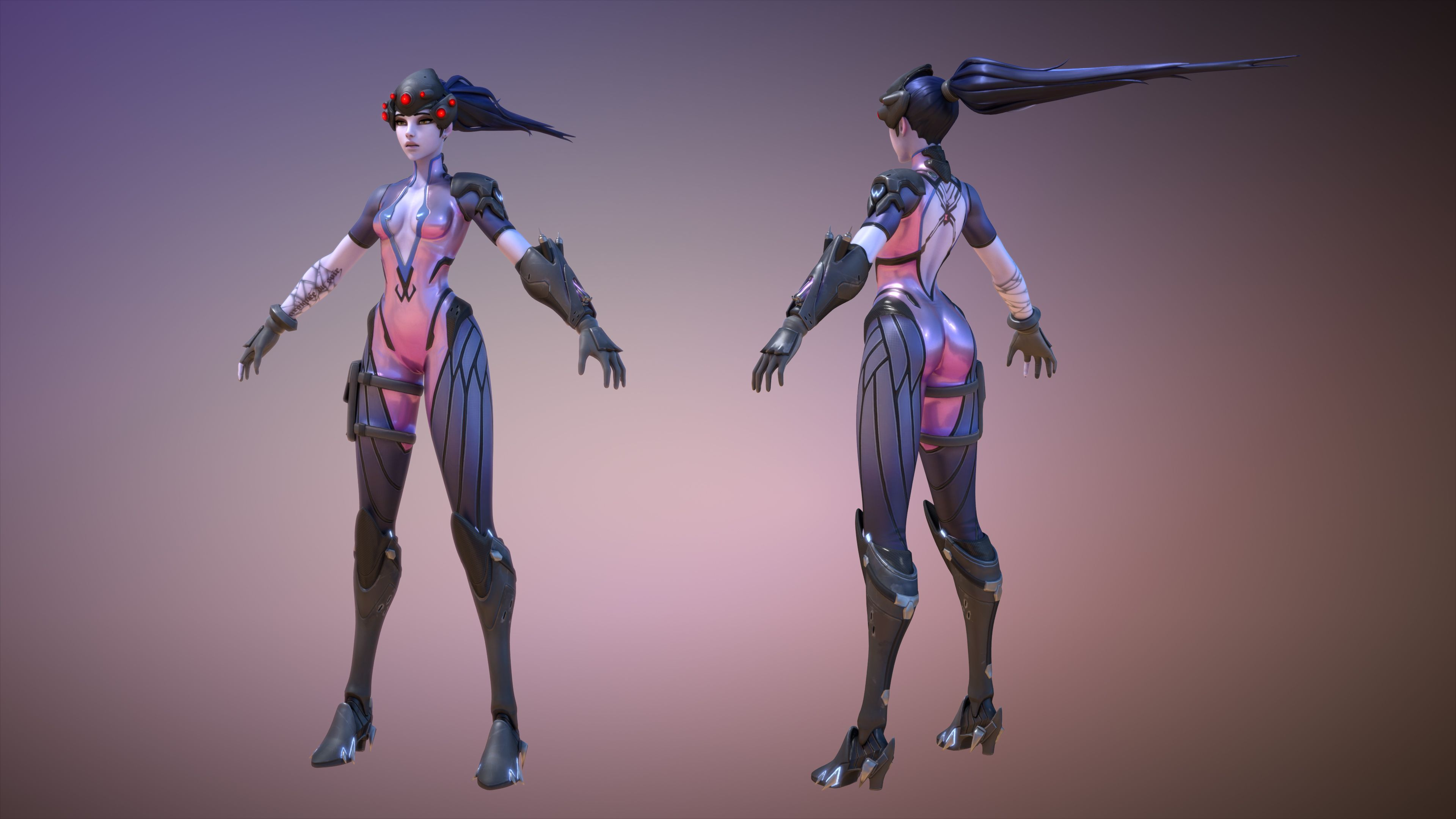 overwatch widowmaker nude