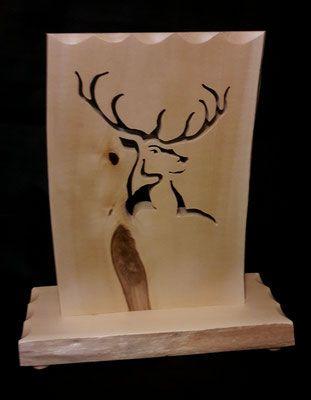 aufsteller herzlich willkommen aus zirben holz mit vase pinterest. Black Bedroom Furniture Sets. Home Design Ideas