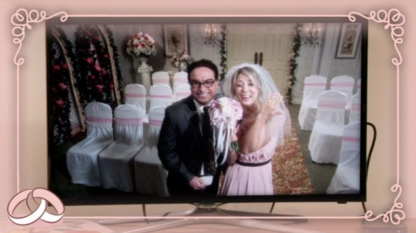 Leonard And Penny Finally Got Married On The Bang Theory