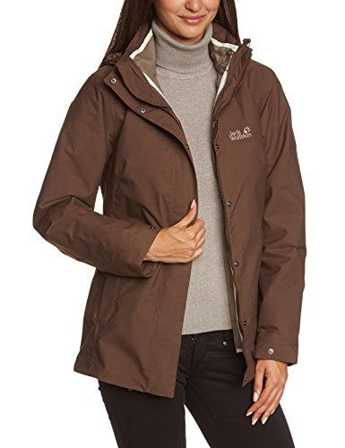 Jack Wolfskin Womens Vernon Jacket Medium Mocca Continue To The Product At The Image Link This Is An Amazon Affiliate L Outdoor Outfit Active Wear For Women Jackets