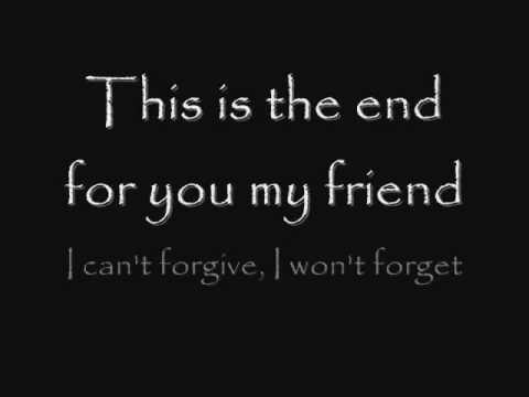 Anti Flag This Is The End For You My Friend Lyrics Anti Flag Lyrics Anarcho Punk