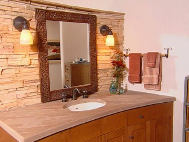 Like The Mirrors But Would Use Copper Or Aged Bronze Sinks Etc