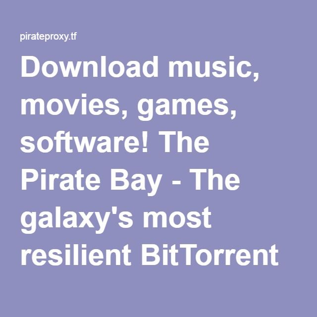 pirate proxy download music