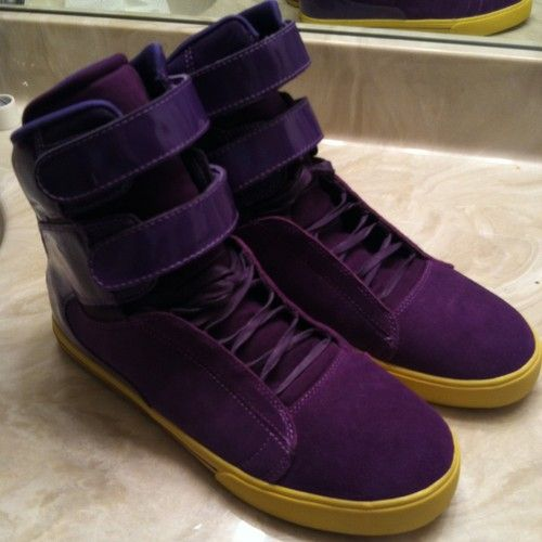 Supra Tk Society Purple Very Rare And Hard To Find Sold Out Everywhere