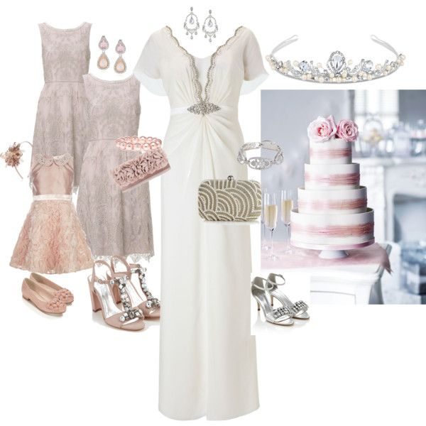 """""""Affordable Luxe """"High Street"""" Wedding"""" by foxyroxyblog. Blog Challenge: to outfit a whole wedding and get the cake all off-the-rack at major chain, """"High Street"""" stores while looking glamourous/expensive. Done! Fits up to Size 18. #PlusSize"""