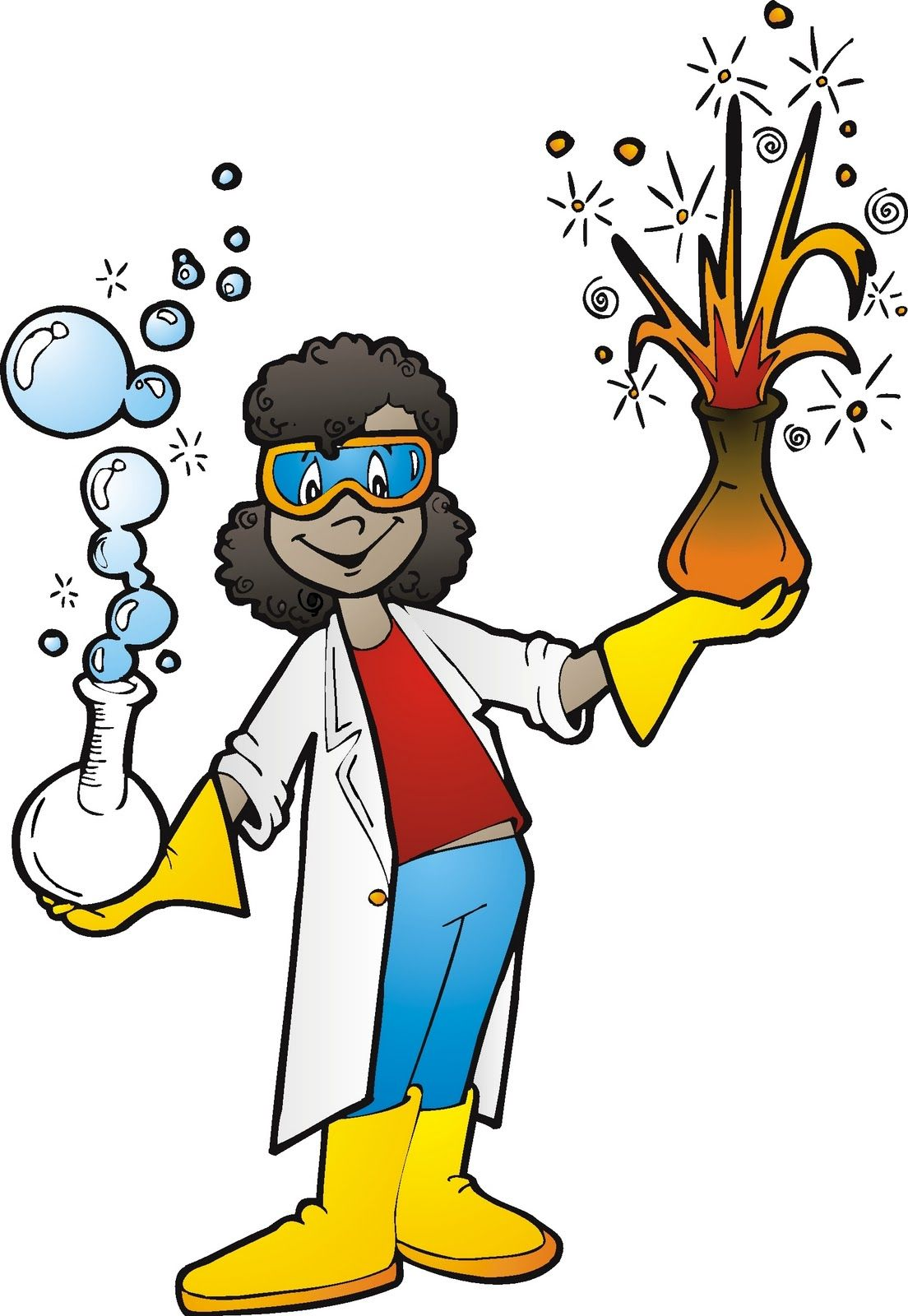 female scientist clipart google search wish i was a teacher rh pinterest com science experiment clipart science experiment clipart free
