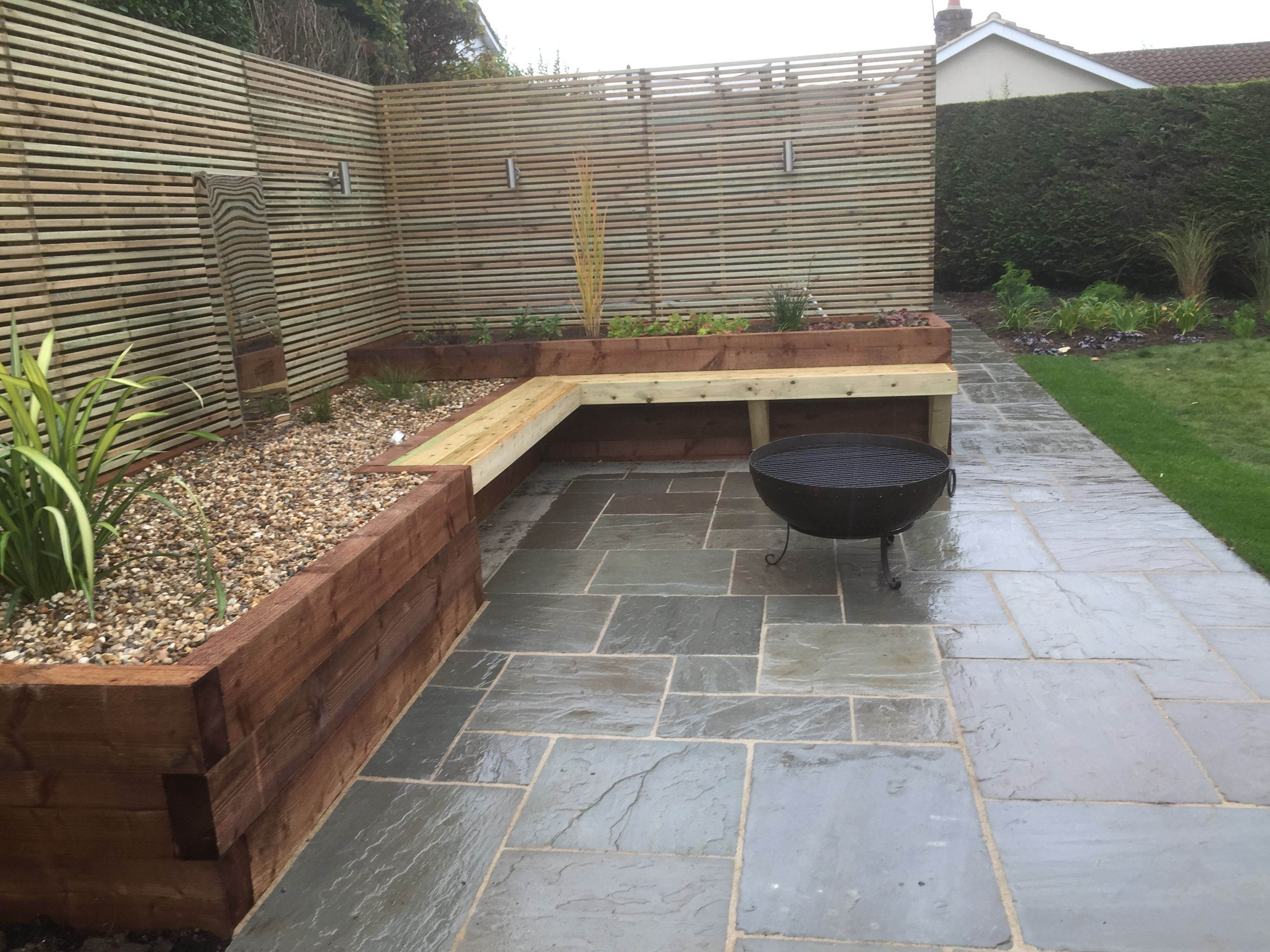 Pin By Conway Landscapes On Paving By Conway Landscapes Patio Area Garden Design Small Courtyards