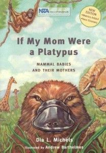 Breastfeeding books for baby, including If My Mom Were A Platypus