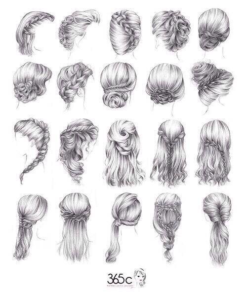 Various braided hairstyle ideas!