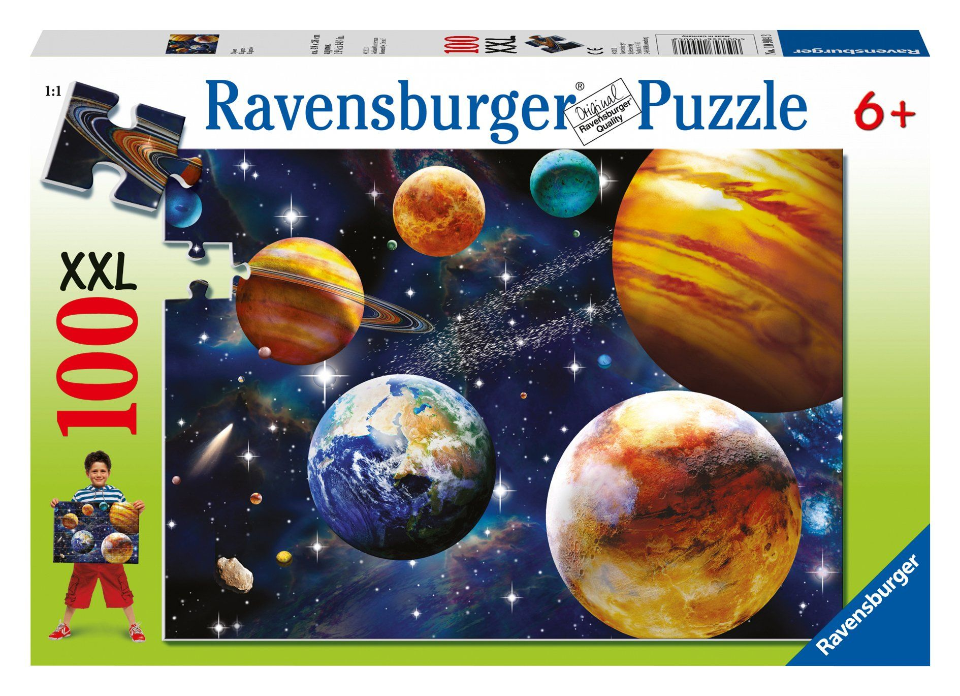 Amazon.com: Space Puzzle, 100-Piece: Toys & Games   Gift Space ...