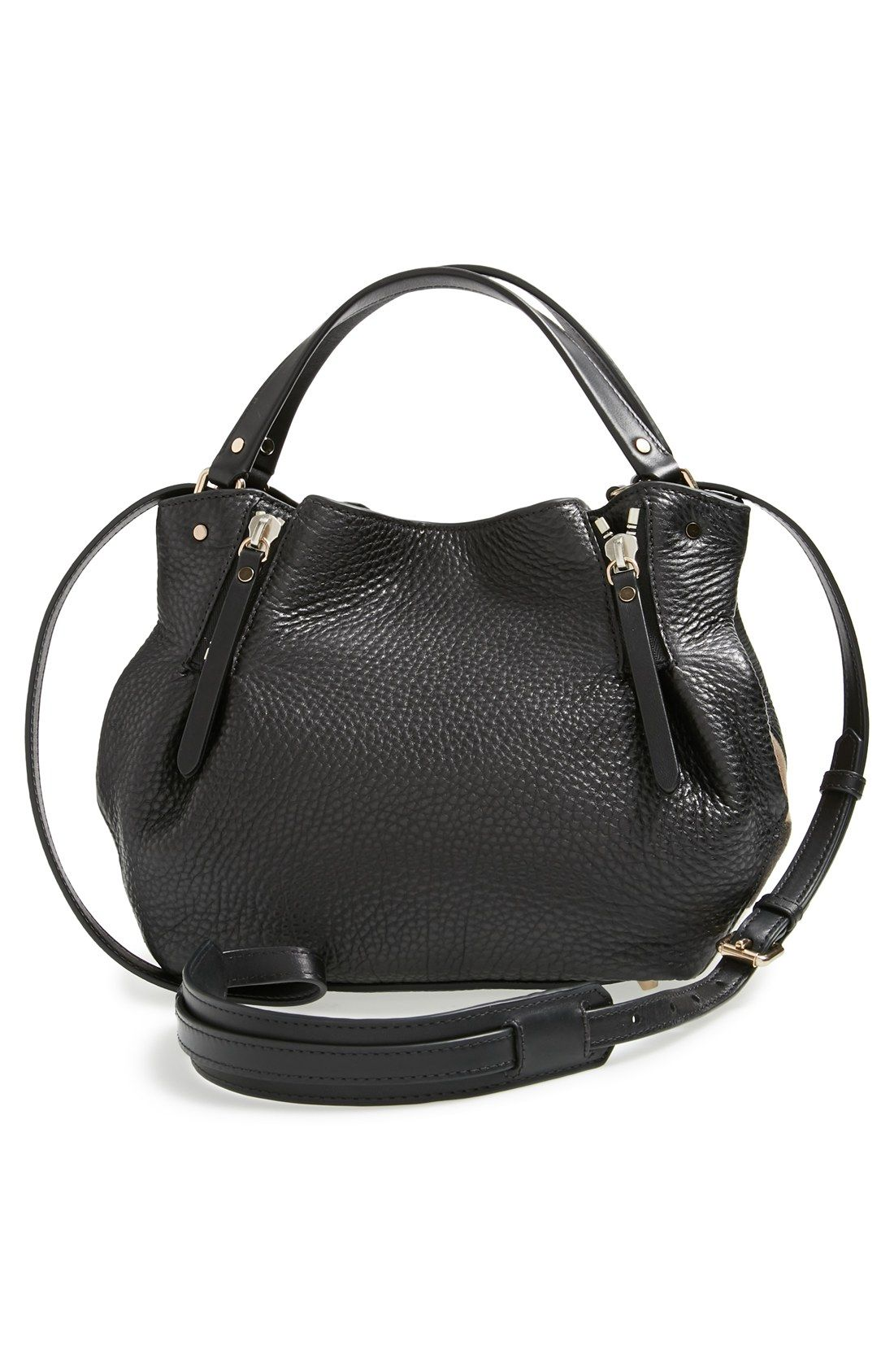 db354f032caf Save on the Burberry Maidstone Black Satchel! This satchel is a top 10  member favorite on Tradesy.