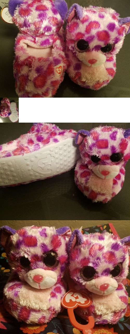 70ce838908b Beanbag Plush 49019  Ty Glamour Beanie Boos Slippers M ( 12-13 ) -  BUY IT  NOW ONLY   11.5 on eBay!