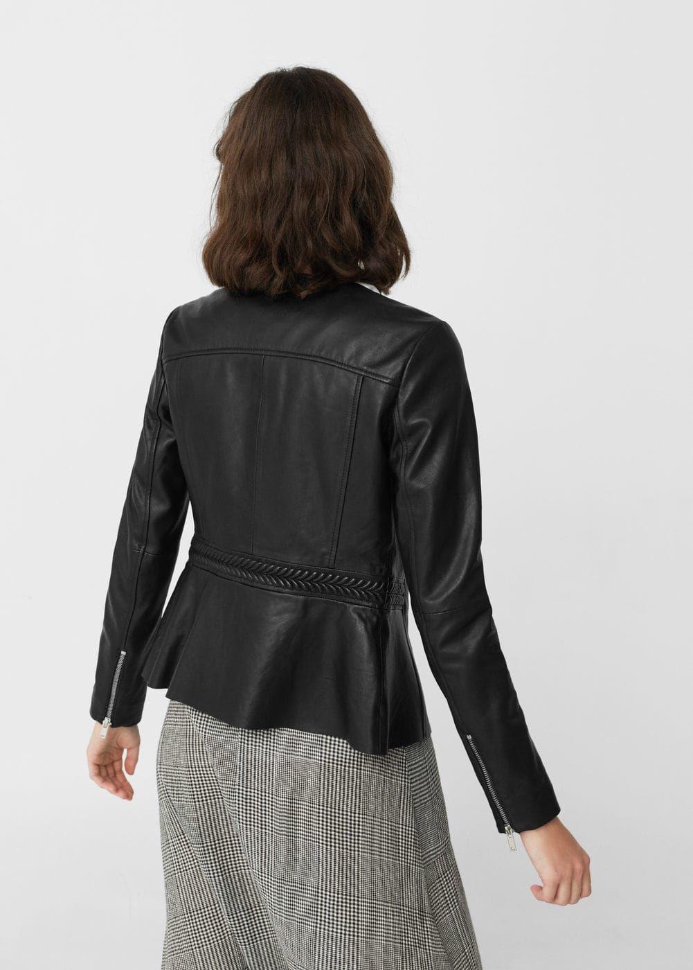 Lederjacke Manteau, Cuir, Veste En Cuir, Vêtements, Style, Mode, Vestes 9c93015f7c78