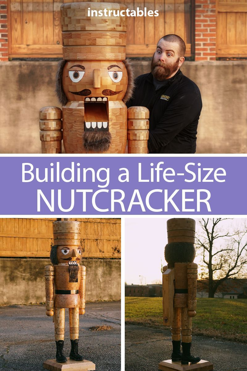 building a life-size nutcracker (that can crack coconuts