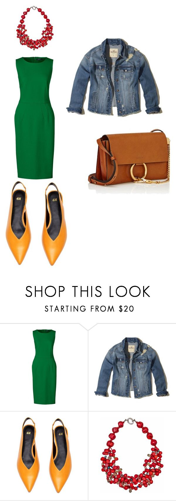 """Weering set"" by sofiya-abdulaeva on Polyvore featuring мода, Lands' End, Hollister Co., Plumeria Exclusive London, Chloé и plus size dresses"