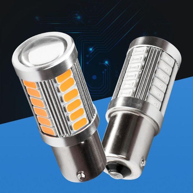 1156 P21w Ba15s Super Bright 33 Smd 5630 5730 Led Auto Brake Lights Fog Lamp Car Daytime Running Light Stop Bulbs 12v Car Lights Automobiles & Motorcycles