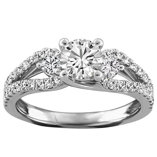 whitegolddiamondengagementringsjpg 600600 pixels Wedding