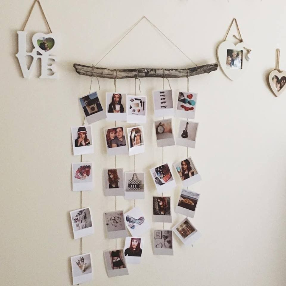 A Way To Display Your Polaroid Pictures In 2019