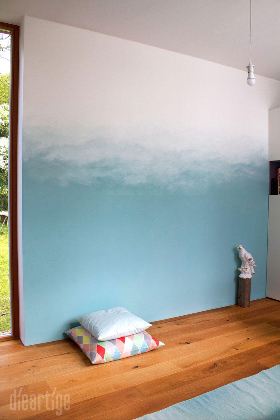 Dieartigeblog Wandgestaltung Raumgestaltung Farbgestaltung Farbverlauf Wandgestaltung Wandgestaltung Kinderzimmer Farbgestaltung