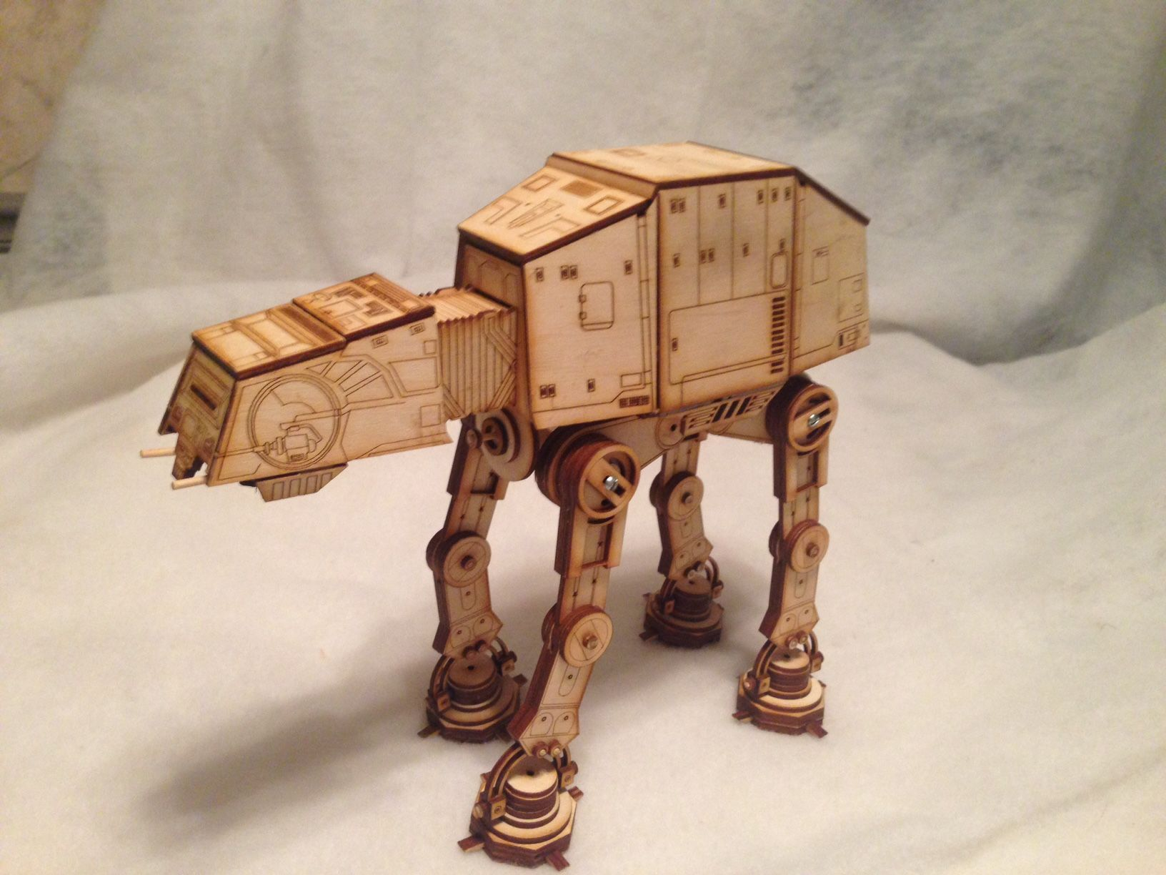 My latest laser moded, At-At strikes back