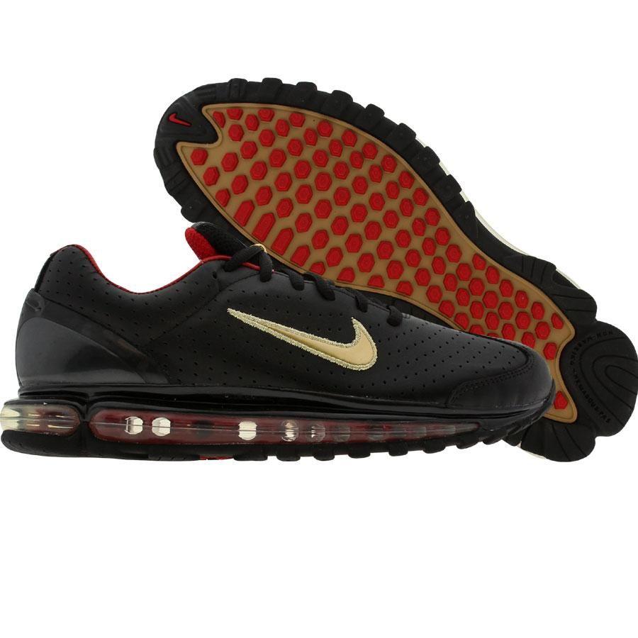 Nike Air Max 2003 LE (black metallic gold varsity red
