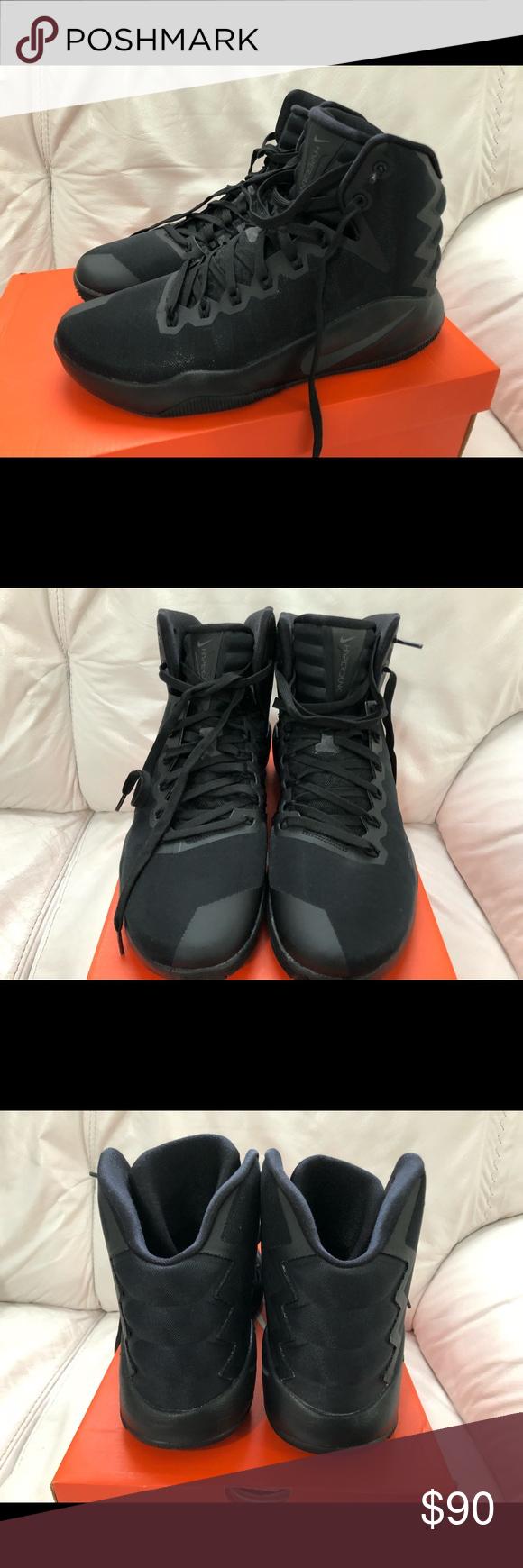 6373b272ab68 Nike Hyperdunk 2016 Black Men s Size 9.5 New Nike Hyperdunk 2016 Black    Anthracite - Volt Men s Size 9.5 New w  Box. Retail Price is  140. Nike  Shoes ...