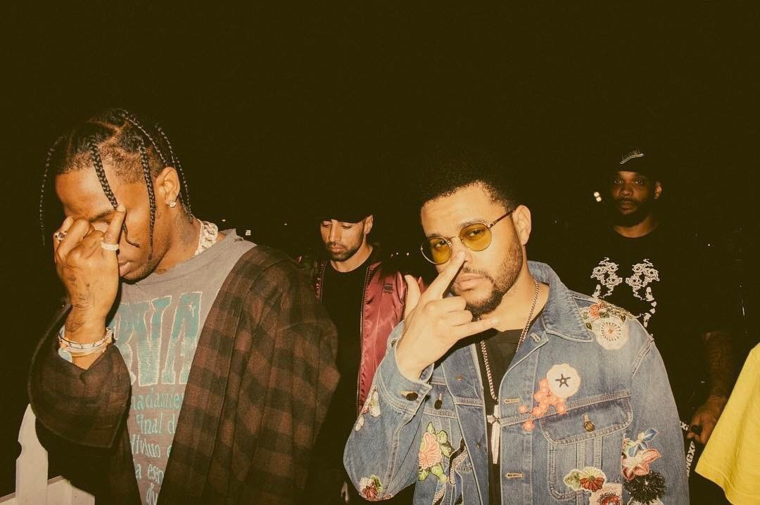 The Weeknd And Travis Scott Twitter Header Photos Twitter Header Aesthetic The Weeknd Wallpaper Iphone