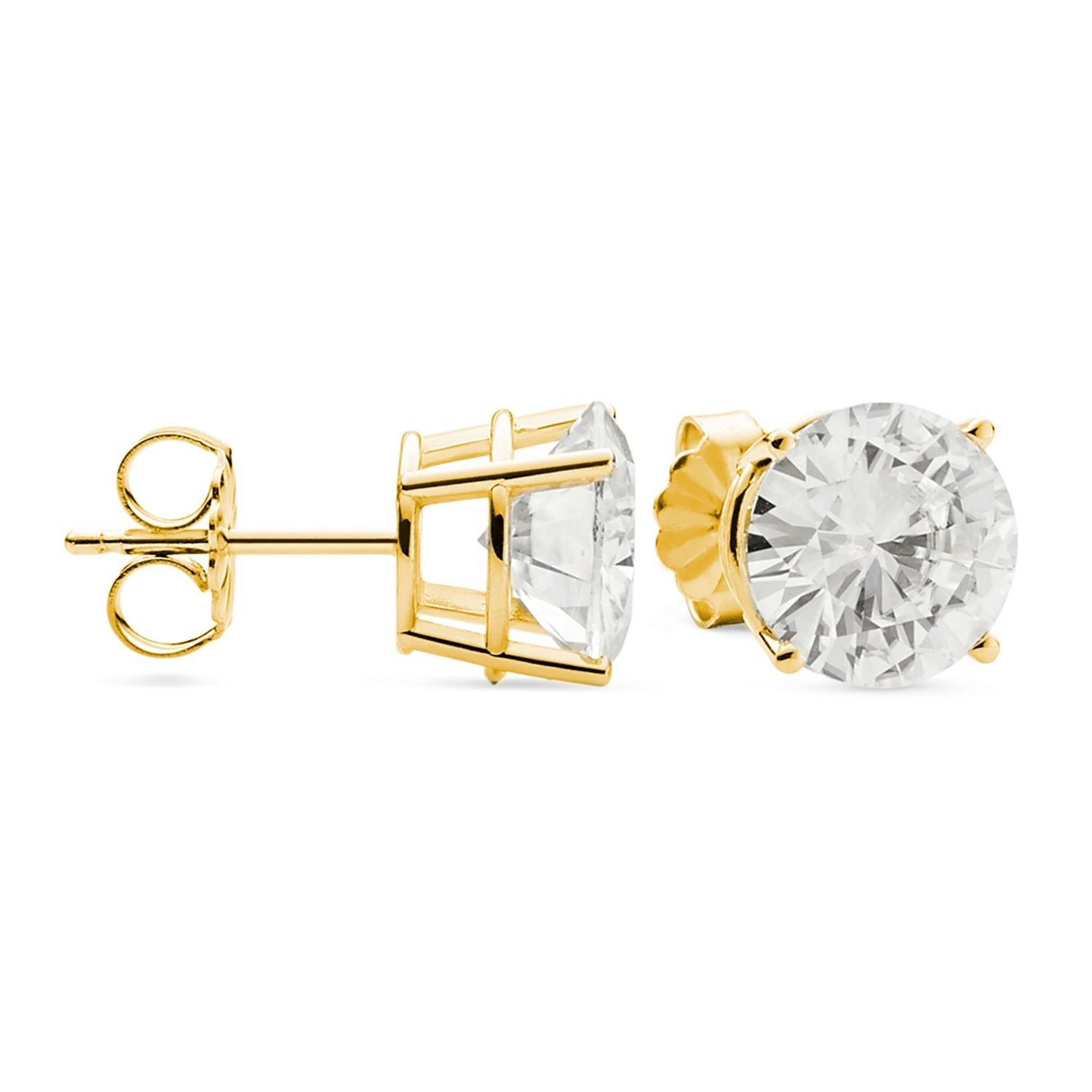 forever dwt stud moissanite image gold view white catalog s earrings c solid cut one category product id oval