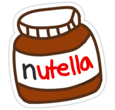 Cute Tumblr Nutella Pattern Sticker By Deathspell In 2021 Tumblr Stickers Snapchat Stickers Cool Stickers