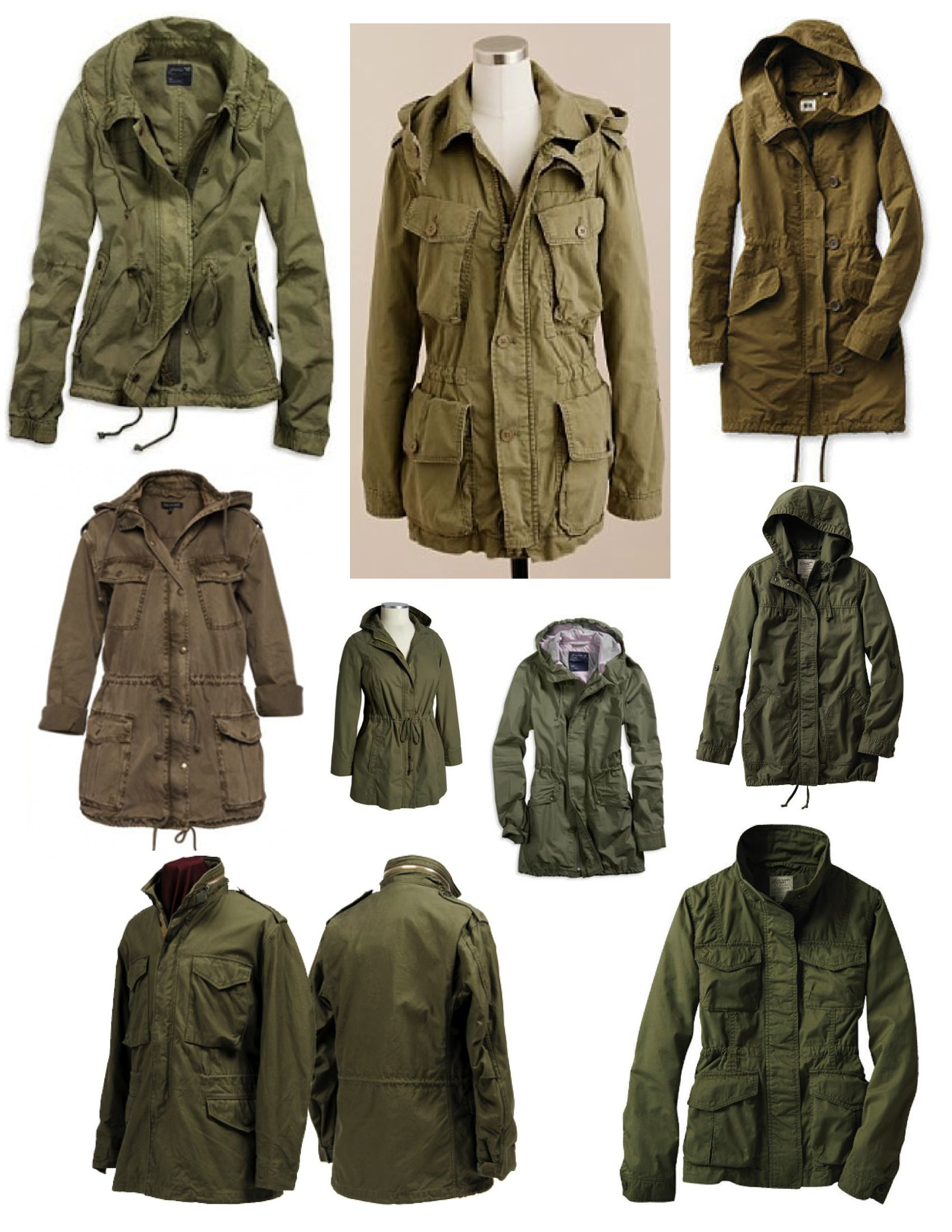 Anorak Parka Hooded Jacket | Outdoor Jacket