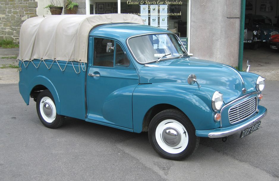 an Austin Series C version of the Morris Minor pick up | vintage ...