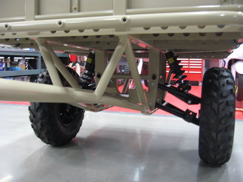 Double A Arm Suspension Depending On The Weight Of The Trailer You Could Use Atv Parts With Images Off Road Trailer Trailer Suspension Overland Trailer