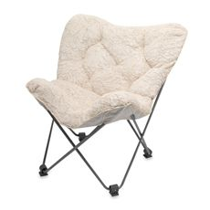Teen Vogue Butterfly Chair Ivory Bed Bath Beyond Dorm Room