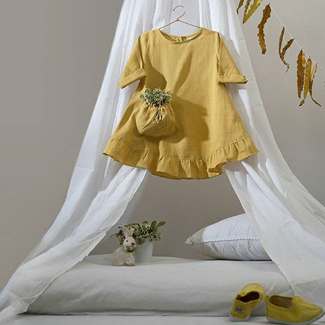 Dress Up your Little ones in Yellow! Shop this collection on our website at www.theloom.in #yellow #yellowobsessed #kidsfashion #kids #princess #kidswear