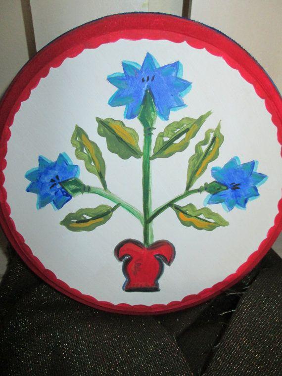 Country Folk Art Symbol For Faith Pennsylvania Folk Art Hex Sign