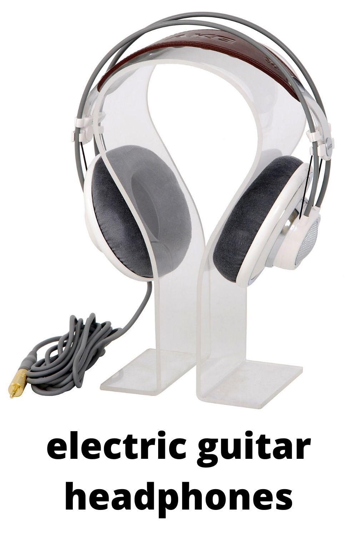 Electric Guitar Headphones In 2020 Digital Audio Workstation Guitar Headphones