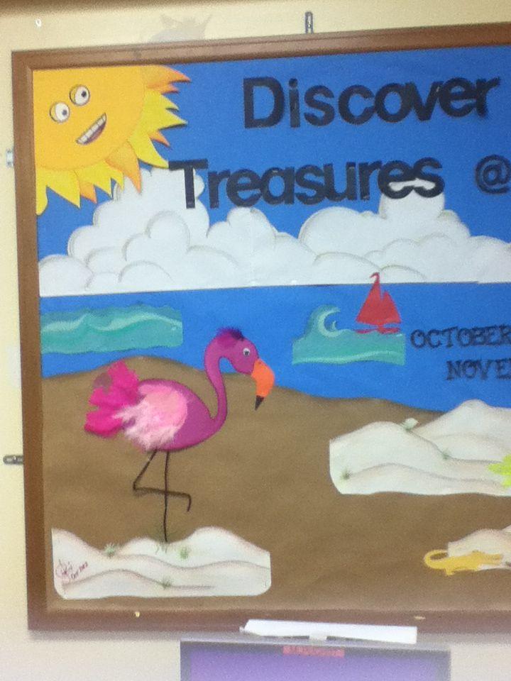 Flamingo In Florida S Natural Treasures Bulletin Board