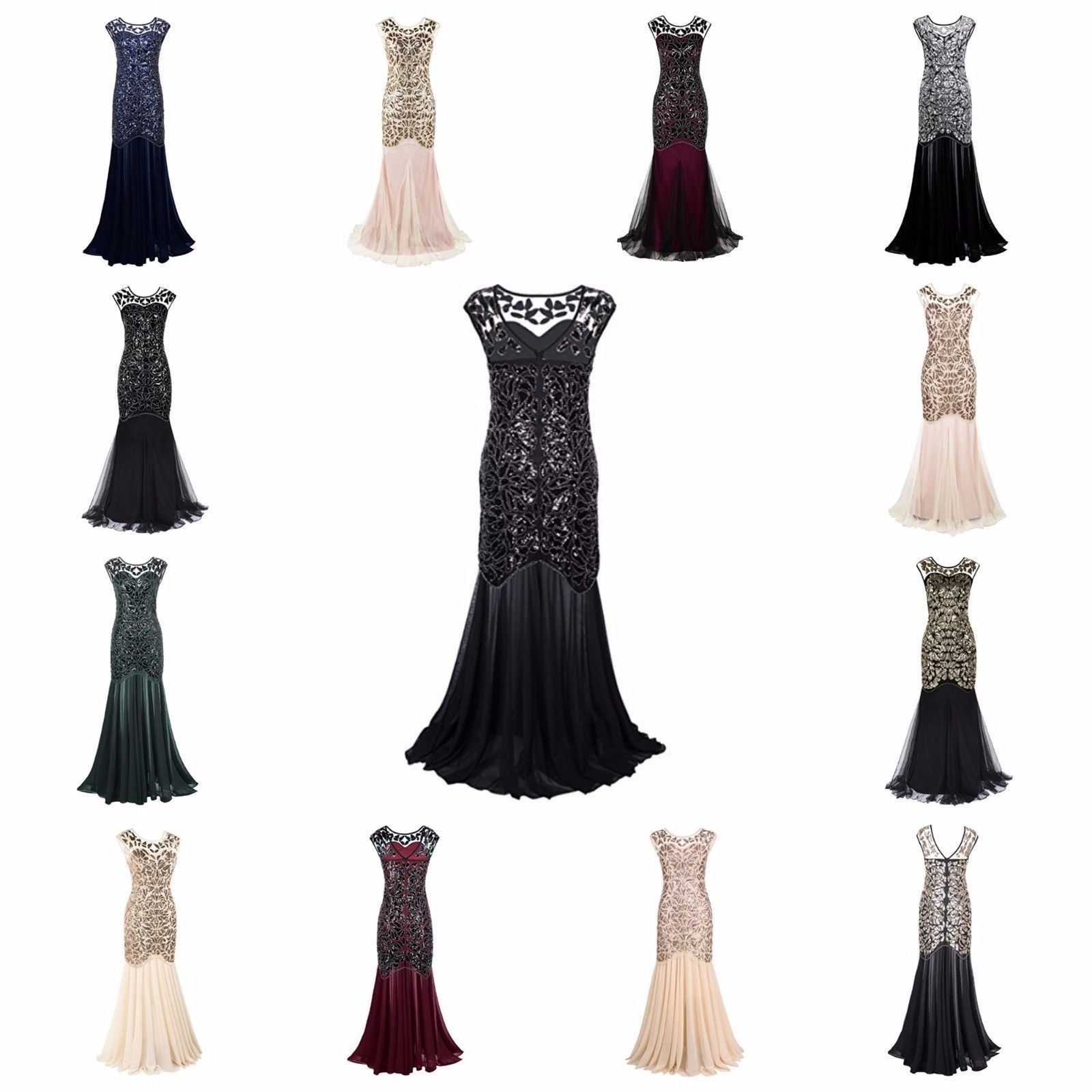Nice great long evening prom dresses s formal women wedding ball