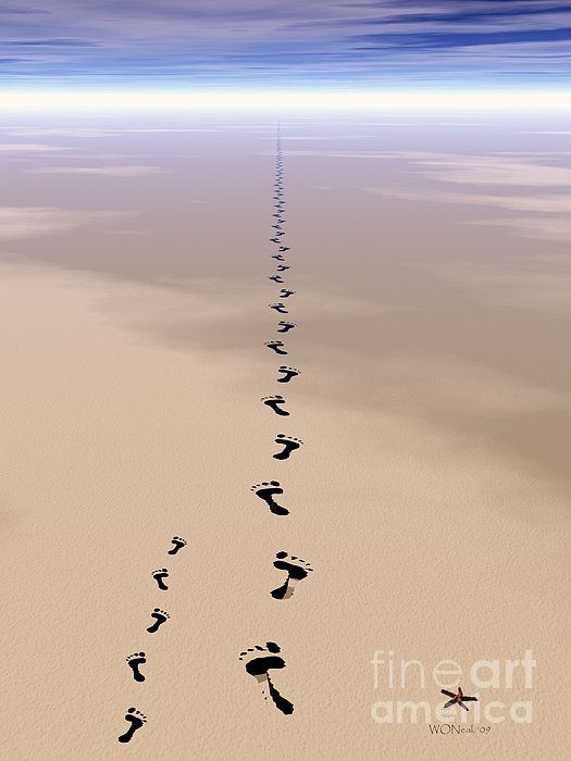 Footprints In The Sand Clipart Confirmation Clip Art
