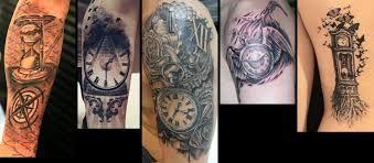 Resultado de imagen para reloj de arena tattoo