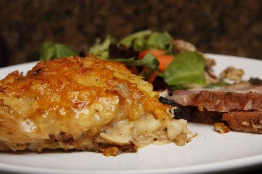 Very tasty scalloped potatoes.
