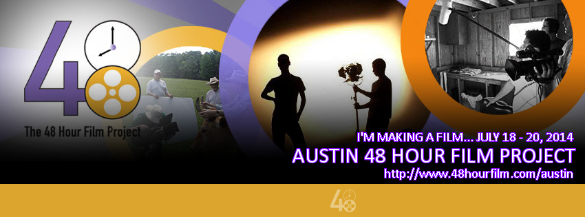 48-hour Film Project is coming to Austin TX! :)