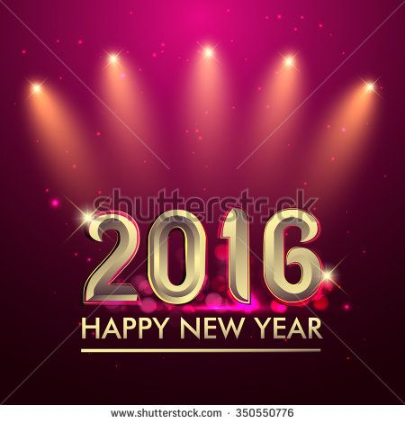 Happy new year 2016 party poster banner or invitation background happy new year 2016 party poster banner or invitation background glowing element vector illustration stock vector 2016 abstract art background stopboris Gallery