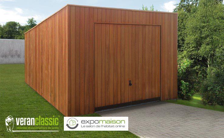 Garage - Carport - garage pour voiture - porte de garage porte bois