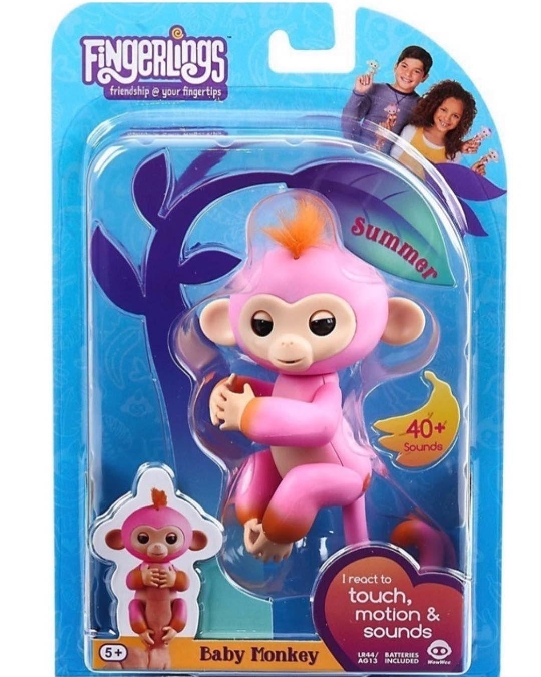 Fingerlings Baby Monkey Summer Pronta Entrega R 14900 Fingerlings
